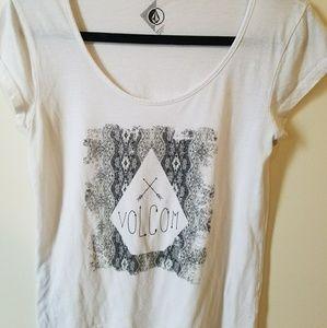 Volcom white shirt